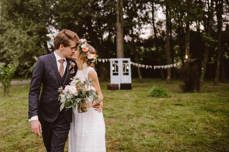 rustykalne wesele w plenerze